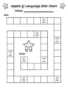 I use this reinforcement chart with my students. It's great because the students can draw their own star and it saves on money I used to use for stickers.