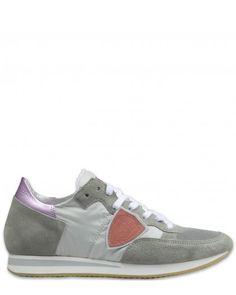 Philippe Model Tropez Bassa Donna World Damen Schuhe grau