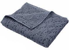 tijdloos stone-wash wieg dekentje KoeKa   kinderen-shop Kleine Zebra
