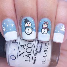 Snowman and Snowlady