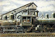 charles burchfield paintings - Google Search