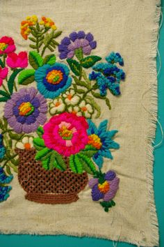 Embroidery I actually did this exact one way back in the early 70 's..don't know what became of it.