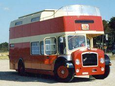 Double decker bus camper