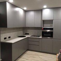 Ideas for kitchen decor pink cabinets Modern Kitchen Interiors, Luxury Kitchen Design, Kitchen Room Design, Modern Kitchen Cabinets, Kitchen Cabinet Design, Home Decor Kitchen, Interior Design Kitchen, Kitchen Furniture, Modular Furniture