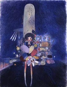 View Little Stars Of City Child by Aya Takano on artnet. Browse more artworks Aya Takano from Gregg Shienbaum Fine Art. Hard Rock, Xavier Veilhan, Japanese Contemporary Art, Aya Takano, Funky Art, Japanese Artists, New Wall, Pretty Art, Aesthetic Art