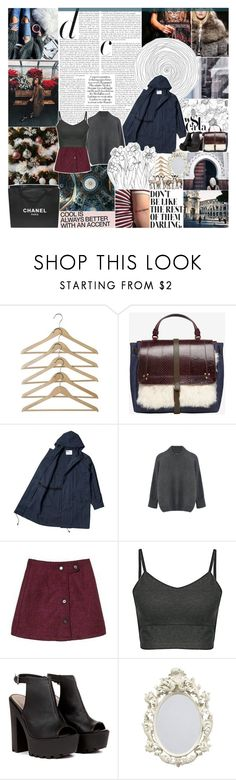 """""""supine // yoins 10"""" by randomn3ss ❤ liked on Polyvore featuring Chanel, Jérôme Dreyfuss, women's clothing, women's fashion, women, female, woman, misses, juniors and magazineset"""