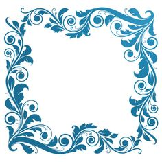 ai borders and frames | ... Vector Graphics: Floral Borders, Corners, and Frames - Furlogy.com