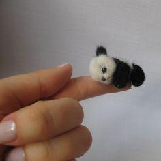 Micro PANDA bear PATTERN Miyako emailed PDF by by TSminibears