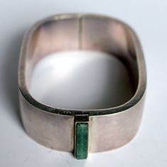 This is beautiful.  Vintage 70's Sterling Bracelet French Signed CASOAR by ThisisParis, $245.00