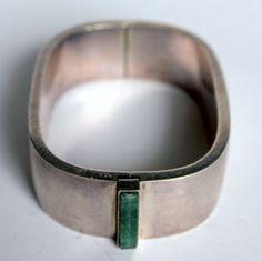 Vintage 70's Sterling Bracelet