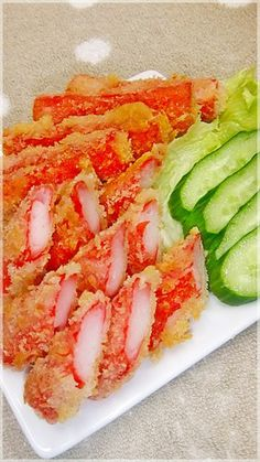 No Other Seasonings Necessary ♡ An Easy Side Dish for Bentos ☆ Deep-Fried Crab Sticks