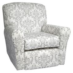 elephant nursery - glider.  Hobby Lobby sells a duct fabric similar to this pattern and color, should I use it?