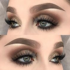 Simple smokey eye ✨ I used @tartecosmetics tartelette in bloom palette (jetsetter, smarty pants, activist, charmer and rocker) | @inglot_cosmetics body sparkles in 45 | @gerardcosmetics star powder in grace | @anastasiabeverlyhills dipbrow pomade in taupe | @darkswanofdenmark lashes in provocative ✨✨ #hudabeauty #fiercesociety #makeupartistsworldwide #makeupartist #dressyourface #wakeupandmakeup #vegas_nay #makeupmafia #mua