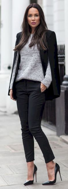 Amazing 43 Semi Casual London Style Outfit
