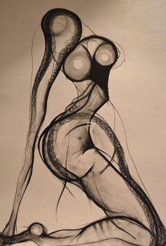 Drawing by Carmel Jenkin