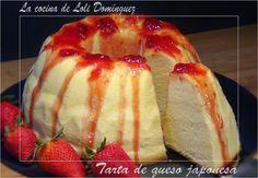 La cocina de Loli Domínguez: Tarta de queso japonesa
