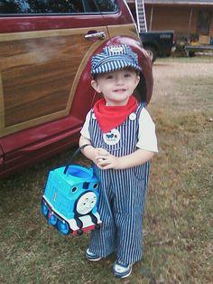 Train conductor costume!