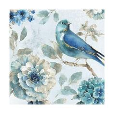 Bring nature-inspired beauty to your living space with the elegant Global Gallery Indigold III by Lisa Audit Canvas Wall Art . This wall art canvas is. Framed Wall Art, Framed Art Prints, Canvas Prints, Canvas Artwork, Canvas Wall Art, Painting Prints, Watercolor Paintings, Chinoiserie, Bird Art