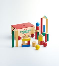 Wooden toy [Gakuen Tsumiki] | 歷届獲獎產品 | Good Design Award