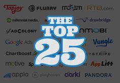 top 25 advertising partners