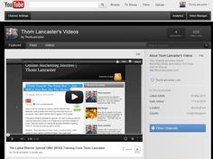 Thom Lancaster on YouTube