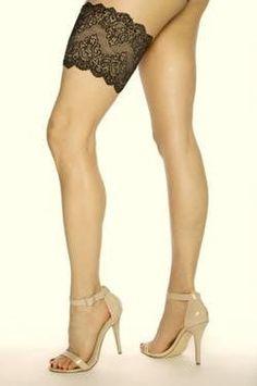 GirlyGoGarter In Black, Functional Yet Sexy Garter - Hands Free Purse