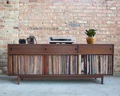 Vinyl Record Storage, Lp Storage, Storage Cabinets, Storage Units, Vinyl Shelf, Bathroom Storage, Stockage Record, Lp Regal, Record Cabinet