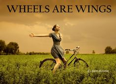 There's no mode of transportation that is better than a bike.