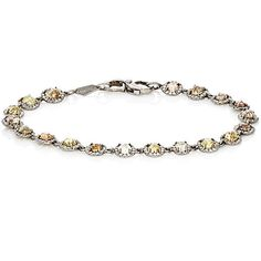 Monique Péan Atelier Women's Mixed-Diamond Bracelet (170.058.420 COP) ❤ liked on Polyvore featuring jewelry, bracelets, colorless, pave diamond jewelry, clear crystal jewelry, diamond jewellery, clear jewelry and monique pean jewelry