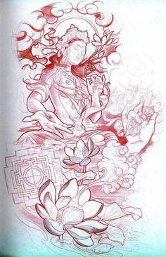 Kunst Tattoos, Body Art Tattoos, Cool Tattoos, Hand Tattoos, Biomech Tattoo, Backpiece Tattoo, Tattoo Ink, Lotus Tattoo, Arm Tattoo