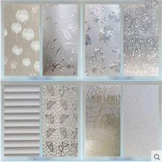 Waterproof PVC Privacy Frosted Home Bedroom Bathroom Window Sticker Glass Film #UnbrandedGeneric