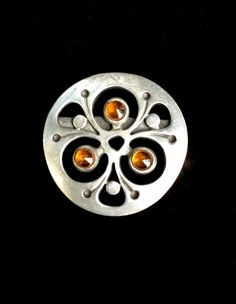 Modernist Brooch by Rune Tennesmed Sweden by WhirleyShirley, $58.00