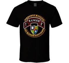 The product 1st Ranger Battalion - Airborne Ranger is sold by Military Insignia Clothing and Products in our Tictail store.  Tictail lets you create a beautiful online store for free - tictail.com