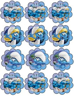 Classic Cartoon Characters, Classic Cartoons, Cute Cartoon Pictures, Cartoon Pics, Boy Birthday, Birthday Parties, Smurf Village, Paw Patrol Coloring Pages, Smurfette