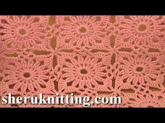 Invisible Method of Square Motif Joining Crochet Tutorial 4 Part 2 of 2 Free Motif Patterns - YouTube