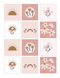 Journal Stickers, Scrapbook Stickers, Kawaii Stickers, Cute Stickers, Printable Labels, Printable Planner Stickers, Printables, Aesthetic Stickers, Aesthetic Iphone Wallpaper