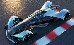 Infiniti SYNAPTIQ modular racing vehicle   Diseno-art