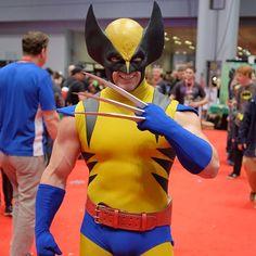 Character: Wolverine (James Howlett, aka Logan) / From: MARVEL Comics 'The Uncanny X-Men' / Cosplayer: Jonathan Carroll (aka Monkey of Steel) / Photo: Henry Sene Yee / Event: New York Comic-Con (2013)