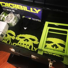 Digibilly #merchandise is all packed up and ready to go for @relayforlife. Come and get it... 10am - 9pm at tagged location.  #dnb #drumnbass #drumandbass #jungle #hardstyle #neurofunk #dubstep #vibes #bass #edm #genres #djs #djlife #pioneerdj #digitaldj #musicproducers #creativity #artists #instamusic #beats #tunes #apparel #tshirt #stickers #cd #phillyevents #relayforlife