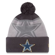 NFL Dallas Cowboys New Era Gray Gold Collection Sport Knit Hat 5ac75d9b991