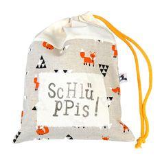 bec595bc4e7d7 FÜCHSE!!!  -) In diesen niedlichen Beutel kann man seine Unterwäsche fein  ordentlich in den Koffer packen. Toll auch als Geschenk!
