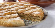 Recette de Pastilla marocaine à la viande maigre hachée. Facile et rapide à réaliser, goûteuse et diététique. Ingrédients, préparation et recettes associées.
