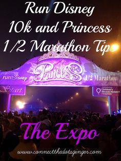 Disney Princess 1/2 Marathon Tips For New Runners: The Expo