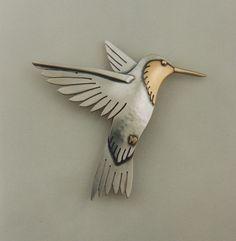 The Jewelry of Ahlene Welsh - Hummingbird