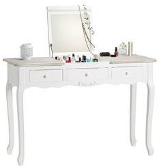 Image for AUDREY Măsuţă de lucru from KikaRO Decor, Furniture, Vanity Mirror, Vanity, Home Decor, Office Desk, Desk, Mirror