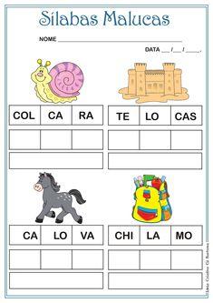 Educação Especial em Destaque: Excelentes atividades para alfabetização.