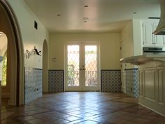 1920'S SPANISH HOME WITH TILE WAINSCOT