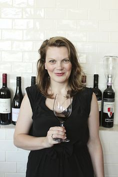 Nice article on Wine Education. Nice shot of Caroline too!