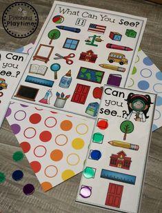 I Spy - 5 Senses Sense of Sight Game Five Senses Preschool, 5 Senses Activities, My Five Senses, Infant Activities, Math Coloring Worksheets, Preschool Worksheets, Preschool Activities, Five Senses Worksheet, Phonics Reading