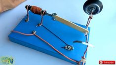 SOLENOID ENGINE | EASY SCIENCE PROJECT | HOMEMADE | DIY |